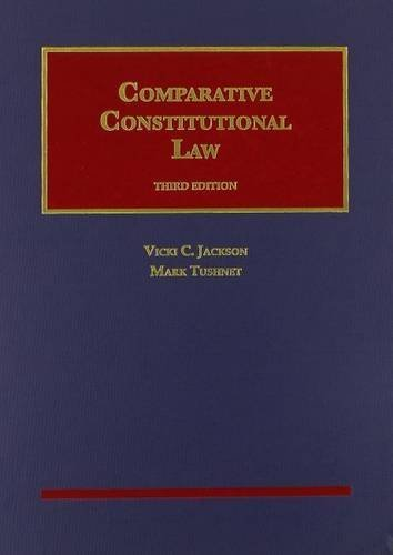 Comparative Constitutional Law (University Casebook Series) by Vicki Jackson (2014-08-08)