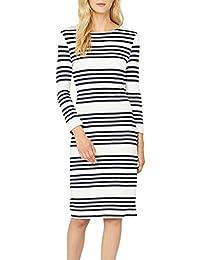 87c66420141f Amazon.it  Vestito bianco - Aderente   Vestiti   Donna  Abbigliamento