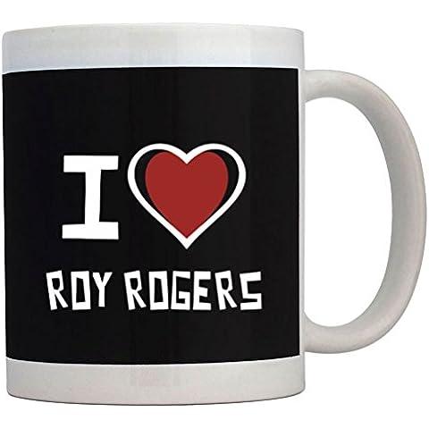 Teeburon I love Roy Rogers Tazza
