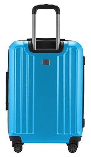 HAUPTSTADTKOFFER - X-Berg – Koffer Trolley Hartschale, TSA, 65 cm, 89 Liter, Cyanblau - 2