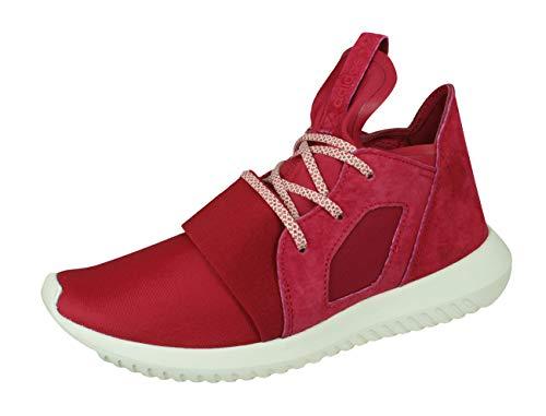 adidas Originals Tubular Defiant Damen Lauftrainer/Schuhe-Red-40 - Adidas Womens Low Cut Sock