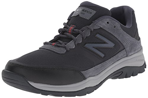 New Balance Men's MW669V1 Walking Shoe, Grey/Red, 10 D US Grey/Red