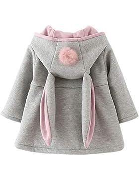 ARAUS-Baby Mädchen Mäntel aus Baumwolle Frühlung Herbst Winter Jache mit Kapuze Kleinkinder warm Kleidung