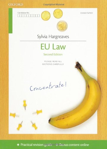 EU Law Concentrate: Law Revision and Study Guide