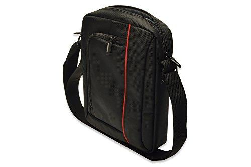 ednet-Nylon-Messenger-UmhngeTasche-fr-Tablet-269-cm-102-Zoll-schwarz