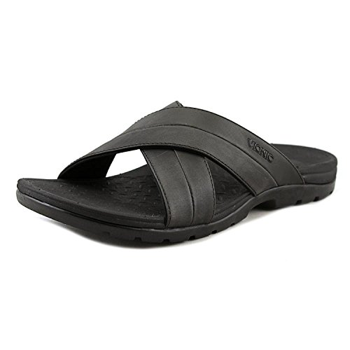VIONIC Holbrook - Men's Leather Slide Sandals
