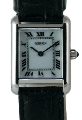 Bernex BN12213 - Reloj de pulsera mujer, piel, color blanco