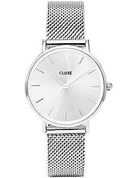Cluse Damen Armbanduhr Analog Quarz Edelstahl CL30023