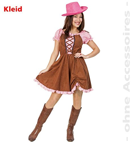 Country Cowgirl Kostüm - FASCHING 10668 Kostüm Country Lady Kleid