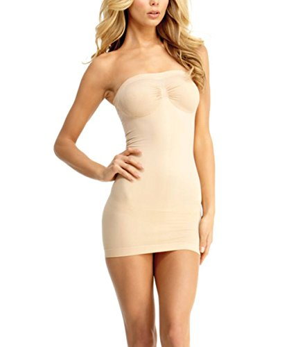 MeMoi - Sottoveste modellanti - Donna beige XL