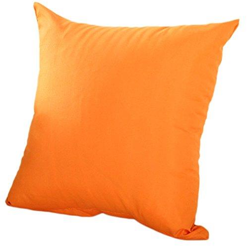 BIGBOBA 1× Pure Color Almohada 45× 45cm sin núcleo algodón Almohada decoración...