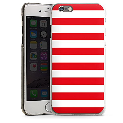 Apple iPhone 5 Housse Étui Protection Coque Bandes Marin Maritime CasDur transparent