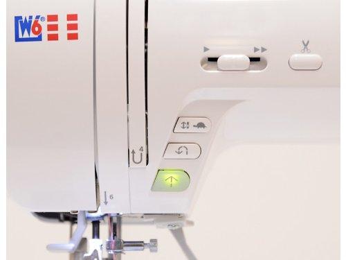 W6 N 5000 Computergesteuerte Nähmaschine mit 323 Programmen -