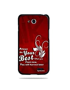 alDivo Premium Quality Printed Mobile Back Cover For LG L90 / LG L90 Back Case Cover (MKD1011)