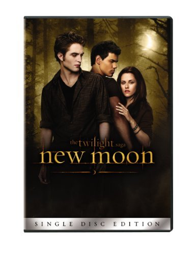 The Twilight Saga: New Moon (Single-Disc Edition) by Kristen Stewart (Dvd Filme Twilight)