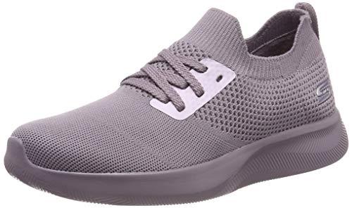Skechers Damen Bobs Squad 2-Shot Caller Sneaker, Violett (Mauve Mve), 37 EU - Sneaker Frauen Bob Skechers