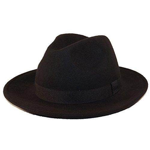 Chapeau-tendance - Chapeau Borsalino Marron Bogart - 58 - Homme