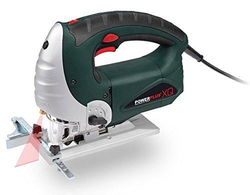 powerplus Stichsäge 900 Watt mit Laser Laubsäge für Holz und Stahl POW XQ5302 -