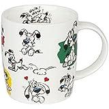 Könitz beker Asterix Snif, porselein, kleurrijk, 250 ml