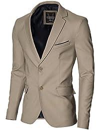 MODERNO - Slim Fit Veste Homme Blazer (MOD14517B)