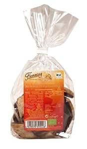Flemming Bio Braune Orangen Lebkuchen mit Zartbitterschokolade, 3er Pack (3 x 125 g)