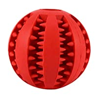 CCZ puppy toy Pet toys very durable rubber ball toys funny interactive flexibility ball toys for dogs@E