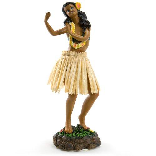 Leilani-salpicadero-mueca-de-Hula-Dancing-Pose-7-por-KC-Hawaii