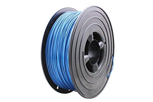 3D Filament 1kg B-Ware Filament Rolle in verschiedenen Farben Rot Gold Silber Grün Blau Braun Lila Violett Beige Transparent Gelb Orange Schwarz Weiß (Türkis (B-Ware))