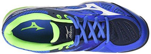 Mizuno Herren Wave Exceed AC Tennisschuhe, Blau Multicolore (StrongBlue/White/DressBlues)