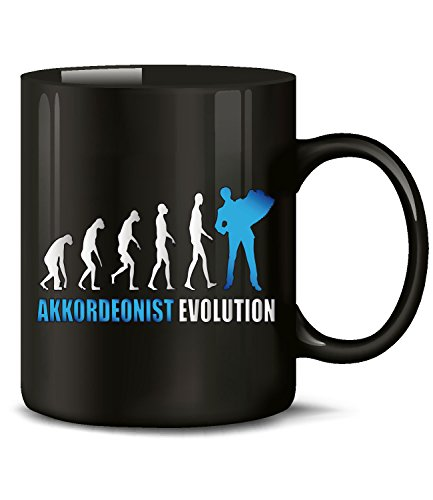 AKKORDEONIST EVOLUTION 4587(Schwarz-Blau)