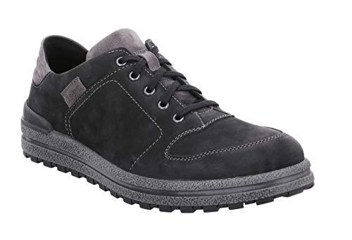 Josef Seibel Hombre Zapatos de Cordones Emil 17, de Caballero Calzado Deportivo,Zapatos Bajos,Zapatillas de Calle,Schwarz,44 EU / 9.5 UK