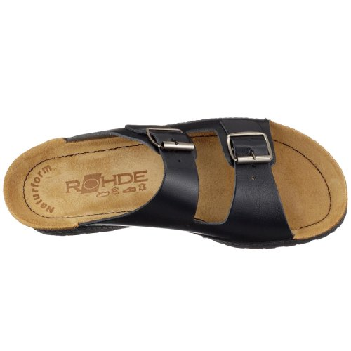 Rohde D 1432, Chaussures femme bleu océan