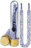 Ivybands | IVYLACES Purple Leopard | Premium Schnürsenkel | Schuhband ILACE055