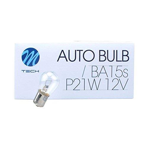 M-Tech Z14 Lámpara BA15s 12V/21W S25, Set de 10