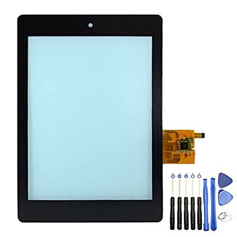 DAN SPEED Replacement New Touch Screen Display Digitizer Glass Lens Panel For Acer Iconia B1-730 B1-730HD A1-713HD A1-810 B1-720 B1-723 A1-713 (Acer A1-810, Black)