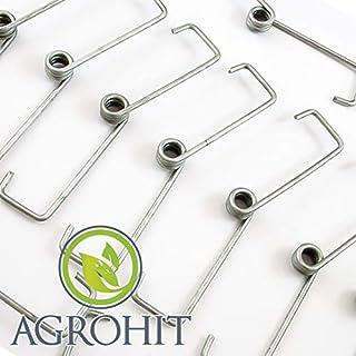AGROHIT Bügelklammern 20er Pack Universalbügelklammern Einmachgläser/Verschlüsse 20 St