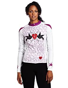 Pearl Izumi Women's Elite Thermal Limited Jersey - Doves Orchid, X-Large