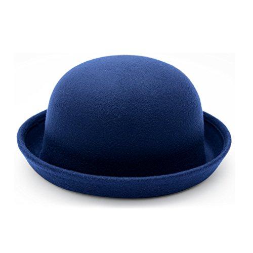 Chapeaux de fourrure/Jazz britannique chapeau/Le sertissage chapeau petit dôme/Chapeau de couple C