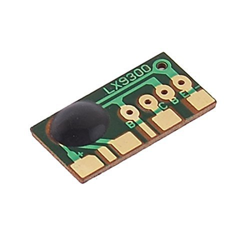 Sourcingmap a12121500ux0313 - Forma rettangolare a tre squillo campanello suono chip card musica