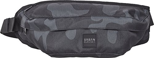 Urban Classics Shoulder Bag Umhängetasche, 43 cm, Rose Camo - Classic Messenger Bag