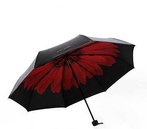 Sunflower Design Custom Automation Parapluie pliable