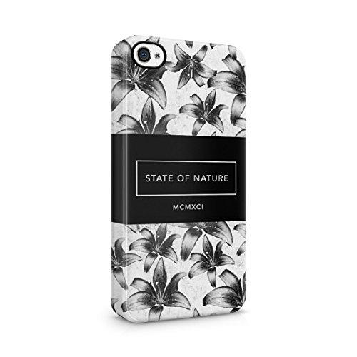 All We Have Have Is Now Pale Weiß & Rosa Wild Roses Tumblr Dünne Rückschale aus Hartplastik für iPhone 7 Plus & iPhone 8 Plus Handy Hülle Schutzhülle Slim Fit Case cover State Of Nature1