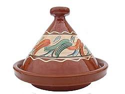 Marokkanische Tajine zum Kochen Ø 35 cm für 3-5 Personen - 905118-000918