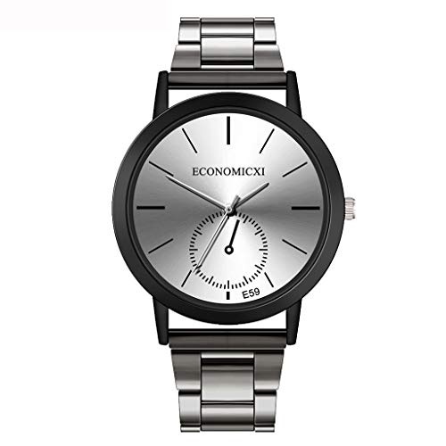 Damen Uhren Armbanduhr, Klassisch Fashion Quarz Analoge Hand Edelstahl Armband Uhren Überwachung Watch Elegant Exquisit Uhr Uhren Armbanduhren LEEDY