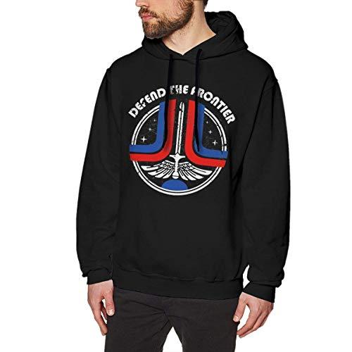 BestGifft Defend The Frontier Men's Hoodie Sweatshirt Pullover Hoodie Men's Hoodie