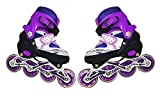 High Performance Inline Skates Inline Skates with PU Flashing Wheel Aluminum Body in-Line
