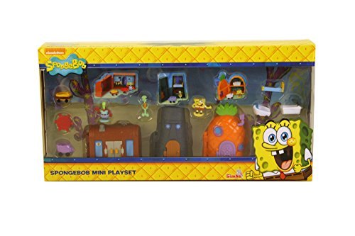 Image of Simba 109490774 SpongeBob Mini Playset