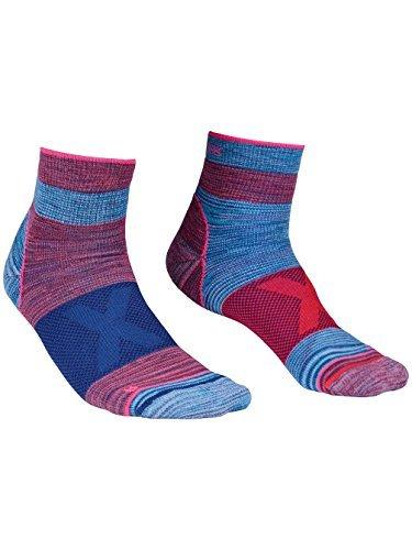 Ortovox Damen Alpinist Quarter Socken, Hot Coral, 39-41 -