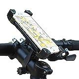 MEACOM Acslam Handyhalterung Fahrrad Handy Halter 360° Drehbare Anti-Rutsch geeignet für 11.5~18cm Handy oder Navi