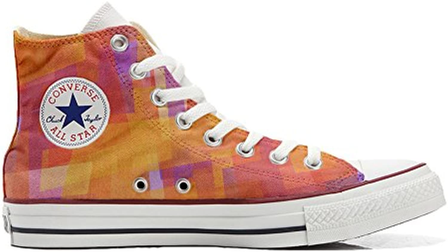 Converse All Star Zapatos Personalizados (Producto Handmade) (Producto Handmade) Abstract Size 38 EU